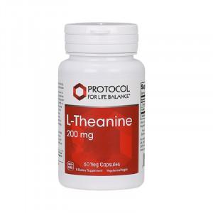 L-Teanin 200 mg 60 vegetariska kapslar