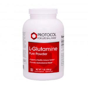 L-glutamine pulver 454 g