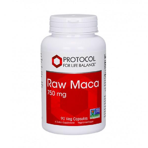 Raw Maca 750mg 90 caps
