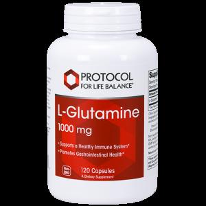 L-glutamin 1000 mg 120 kapslar